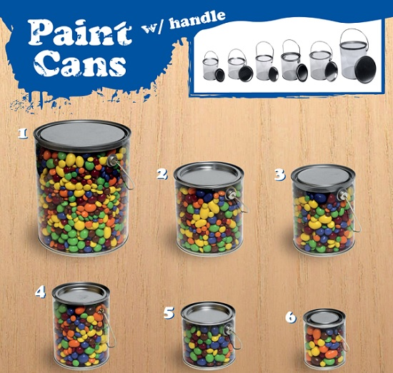 Paint Cans For Candy