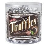 Peppermint Dark Chocolate Truffle Tub - 80ct