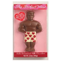 Perfect Man Solid Milk Chocolate  - 12ct