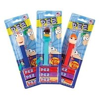 Phineas & Ferb PEZ Blister Packs - 12ct