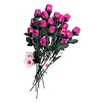 Pink Sweet Heart Chocolate Roses - 48ct