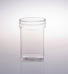 56 oz Square Plastic Containers - 27ct