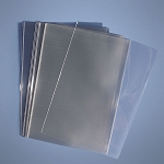 2 Mil Industrial Poly Bags - 8in. x 10in. - 1000ct
