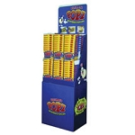 Popz Popcorn 96 Tubs w/ Display - Movie Butter
