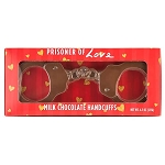 Prisoner Of Love Chocolate Handcuffs - 24ct