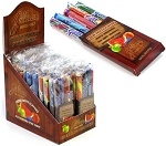 Old Fashioned 5 pk Candy Sticks - 24ct In Display