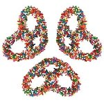 Rainbow Sprinkle Chocolate Pretzels - 3lbs