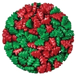 Red and Green Christmas Trees - 10lbs