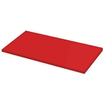 Red Laminate Wood Shelf - 12