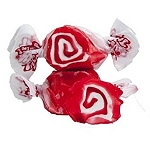 Red Licorice Swirl Salt Water Taffy - 5lbs