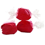 Red Salt Water Taffy- Cello Wrapped - 20lbs