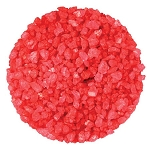 Red Strawberry Rock Candy Crystals - 10lbs