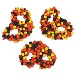 Reeses Pieces Pretzels - 25ct