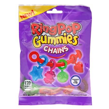 Ring Pop Gummy Charms