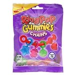 Ring Pop Gummy Chains Peg Bag - 12ct