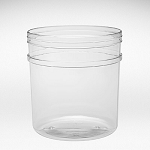 151 oz Round Tubs with Knob Lids - 20ct