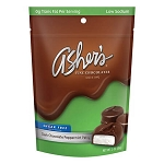 Sugar-Free Dark Chocolate Mint Patties Peg Bags - 12ct