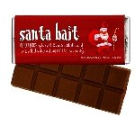 Santa Bait Chocolate Bars - 24ct