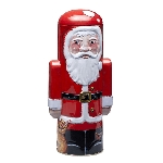 Santa Claus Tin w/ Mini Star Shortbread - 6ct