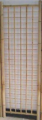 Classic Bamboo Gridwall Panel - 6ft