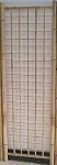 Classic Bamboo Gridwall Panel - 7ft
