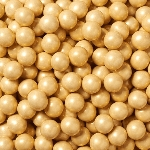 Shimmer Gold Sixlets - 12lbs
