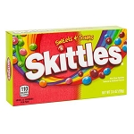 Skittles Sweet & Sours Theater Box - 12ct
