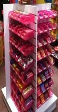 Slatwall Candy Racks