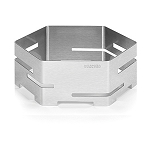 Stainless Hexagon Buffet Riser - Size Choice