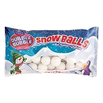 Snowballs Blue Raspberry Gumballs - 24ct
