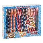 Soda Pop Candy Canes - 12ct