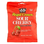 Sour Cherry Hard Candy Twist Peg Bag - 12ct