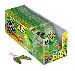 Pop Rock Dips Sour Apple - 18ct