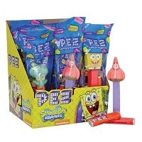 Spongebob Assorted PEZ Dispensers - 12ct