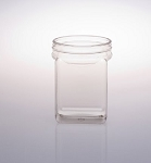 50 oz Plastic Square Jars - 30ct