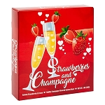 Strawberries & Champagne Gummies Box - 12ct