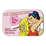 Sugar-Free Enough Conversation Mint Tin - 18ct