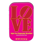 Sugar-Free Peppermints Love Tin - 18ct
