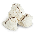 Sugar Free White Frosted Coconut Haystacks - 10lbs