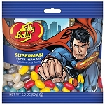 Super Man Jelly Belly Peg Bags - 12ct