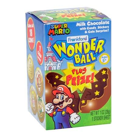 Super Mario Wonderball Mario Candy And Toy Wholesale Candy