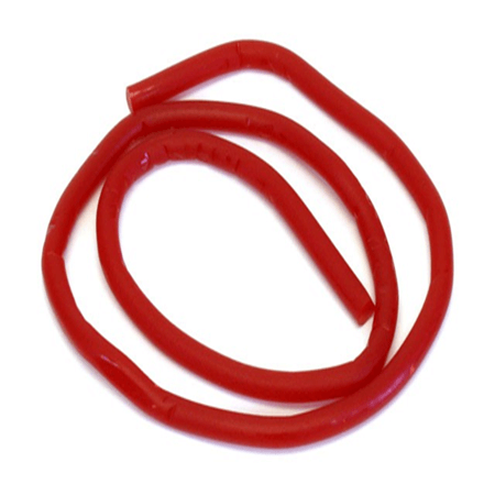 super red licorice ropes nostalgic candy unwrapped candy  candy table ct