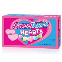 Sweetart Hearts - 10ct