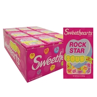 Sour Conversation Hearts - 36ct