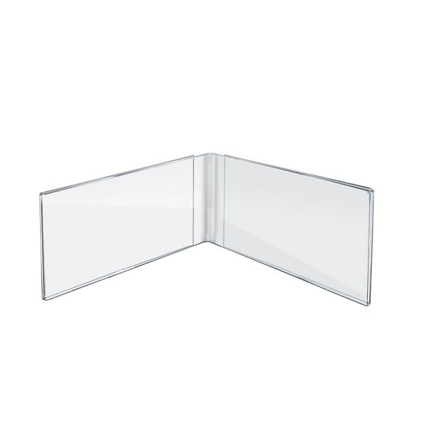 Acrylic Dual Frame Sign Holders - 5\