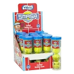 Tennis Ball Gumballs Tube - 12ct