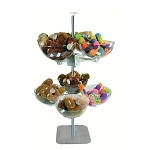 2 Tiered Quad Arm Bowl Tower