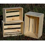 3 Nested Pine Crates
