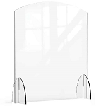 Acrylic Protection Barrier / Sneeze Guard 36 x 10 x 40