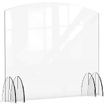 Acrylic Protection Barrier / Sneeze Guard 48 x 10 x 40